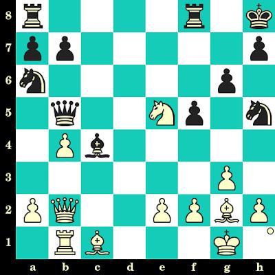 Les Blancs jouent et matent en 2 coups - Liem Le Quang vs Phemelo Khetho, Khanty Mansyisk, 2010