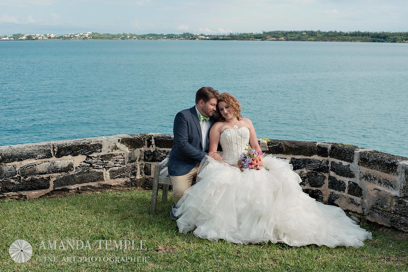 Bermuda Photographer - Amanda Temple: Rachel and James Trash the Dress