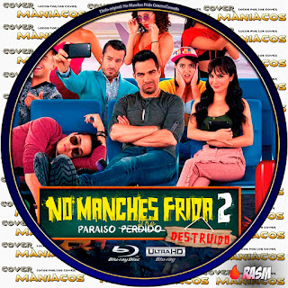 GALLETA NO MANCHES FRIDA 2 - 2019 [COVERBLU RAY]