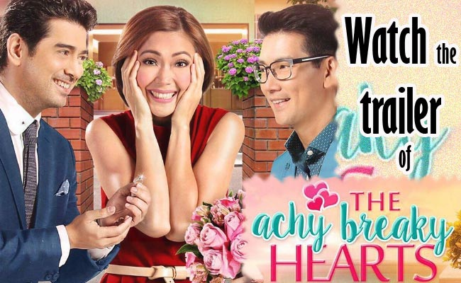 "Watch the Trailer of New Movie of Jodi, Ian and Richard ""The Achy Breaky Hearts"""