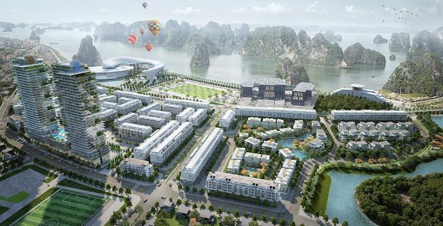 Phối cảnh dự án Mon Bay Hạ Long