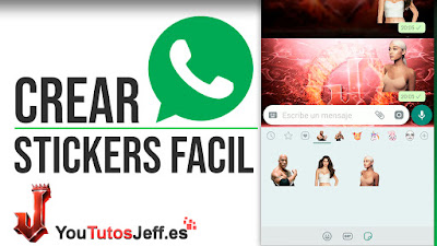 Como Crear Stickers para Whatsapp de Forma Simple - Trucos Whatsapp