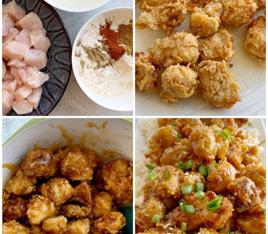chinese honey chicken recipes : healthy low carb meals