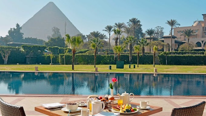 Checked in: Marriott Mena House, Cairo (Egypt)