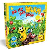 Imagen de la caja del juego de mesa Da ist der wurm drim
