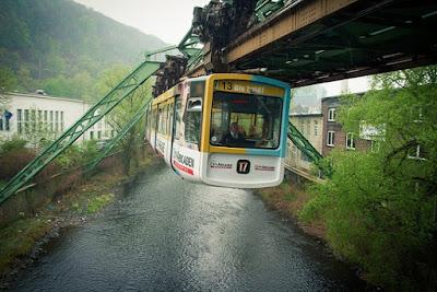 Hanging train