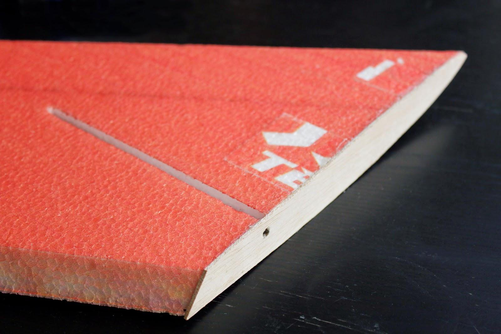 How to reinforce foam wings