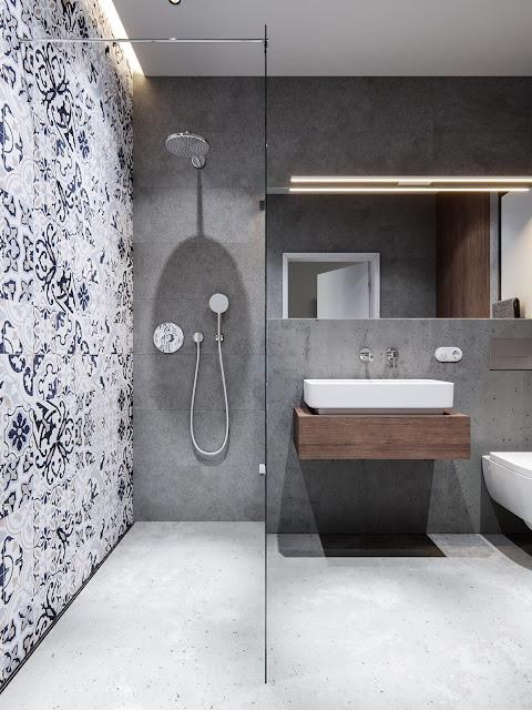 Design Of Bathroom Tiles