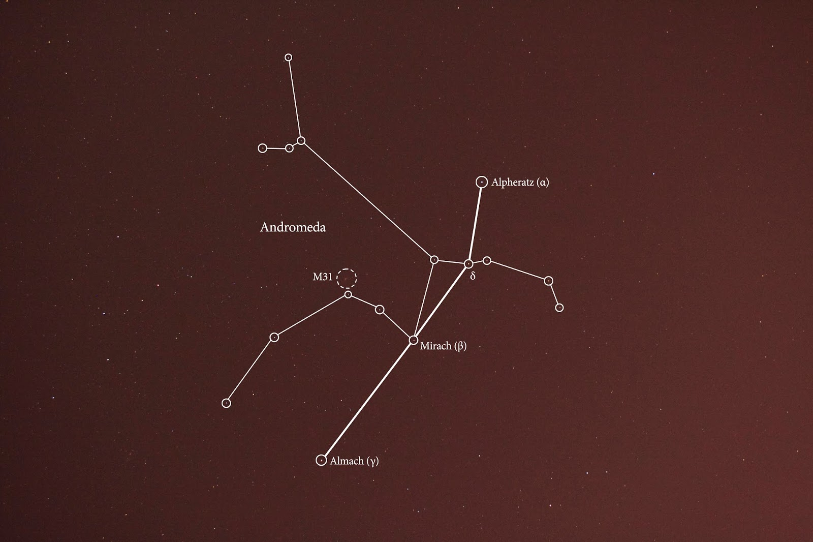 Interesting Facts About The Constellation Andromeda