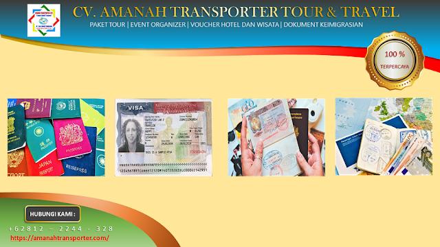 Jasa Pengurusan Pembuatan VISA