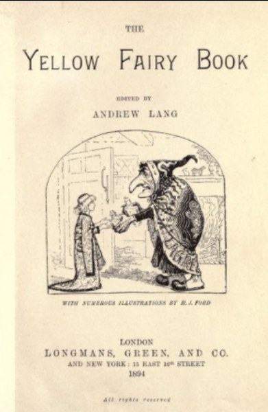 The Yellow Fairy Book By Andrew Lang in Pdf
