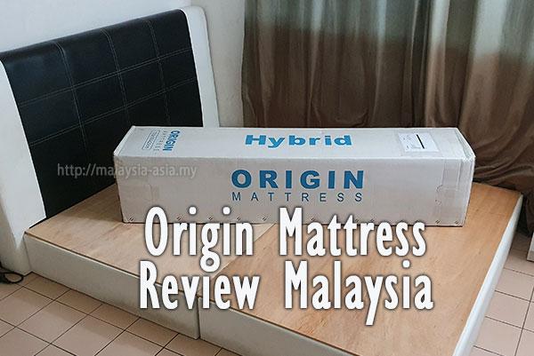Malaysia Origin Mattress Review