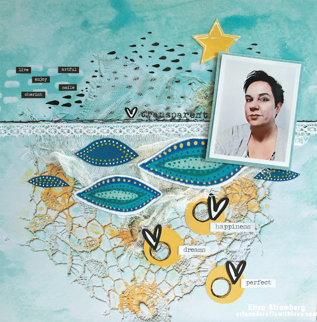 Scrapbooking Layout: Happiness