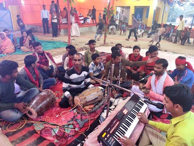 नवाह यज्ञ से गैवीपुर में भक्तिमय माहौल हुआ कायम