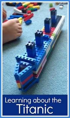 Learning about the Titanic with Twinkl