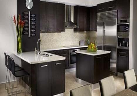 Desain Dapur Rumah Minimalis Terkini 4