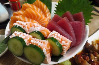Miz Japanese Restaurant, sashimi