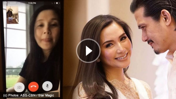 Robin Padilla shares video chat with wife Mariel Rodriguez while in the US to give birth