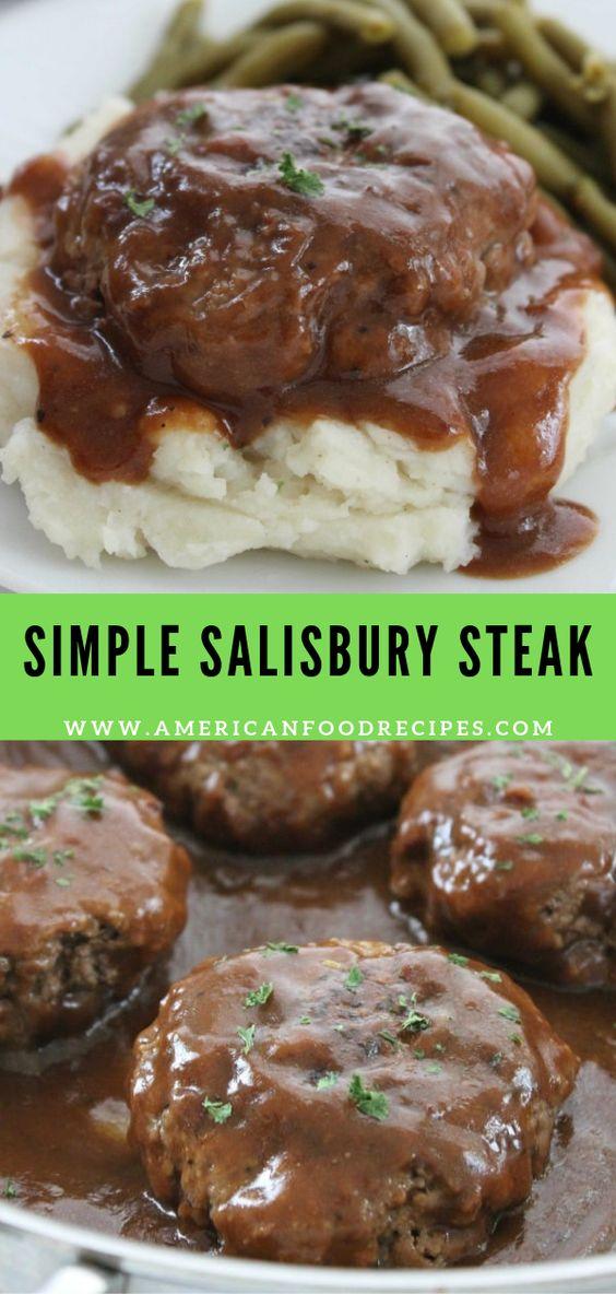 Simple Salisbury Steak