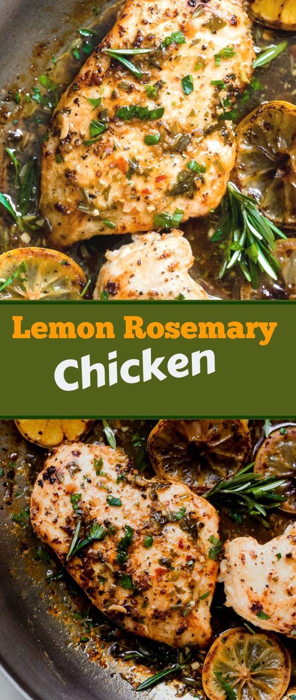 Lemon Rosemary Chісkеn #Lemon #Rosemary #Chісkеn Healthy Recipes For Weight Loss, Healthy Recipes Easy, Healthy Recipes Dinner, Healthy Recipes Best, Healthy Recipes On A Budget,