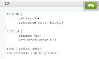 印刷用CSSへのリンク