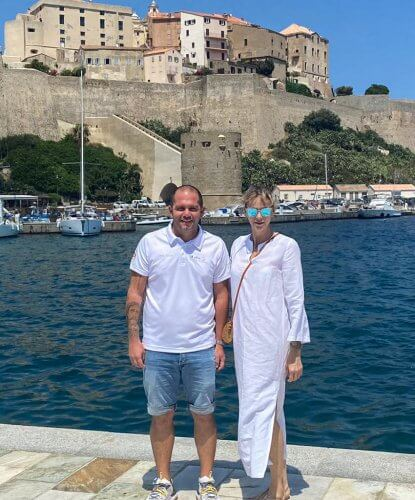 Princess Charlene is currently in Corsica together with her family, Prince Albert, Hereditary Prince Jacques and Princess Gabriella