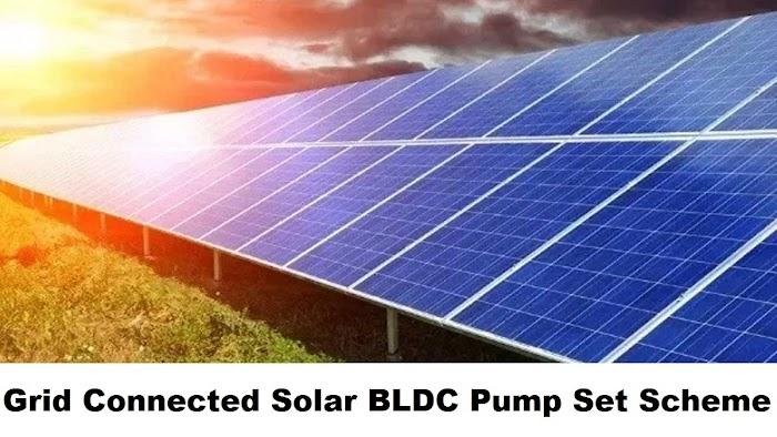 Grid related Solar Plant BLDC Pump Units Scheme in Andhra Pradesh