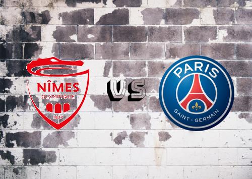 Nîmes vs PSG  Resumen y Partido Completo