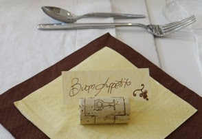 Italy Art Project: Re-Use Your Wine Corks as Place Card ...