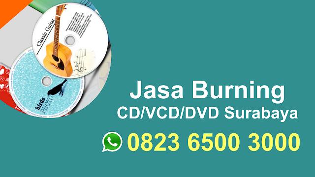 Jasa Burning CD, DVD di Kejawan Putih Tambak Surabaya