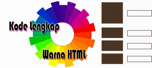 Kode Kode Warna HTML Blog