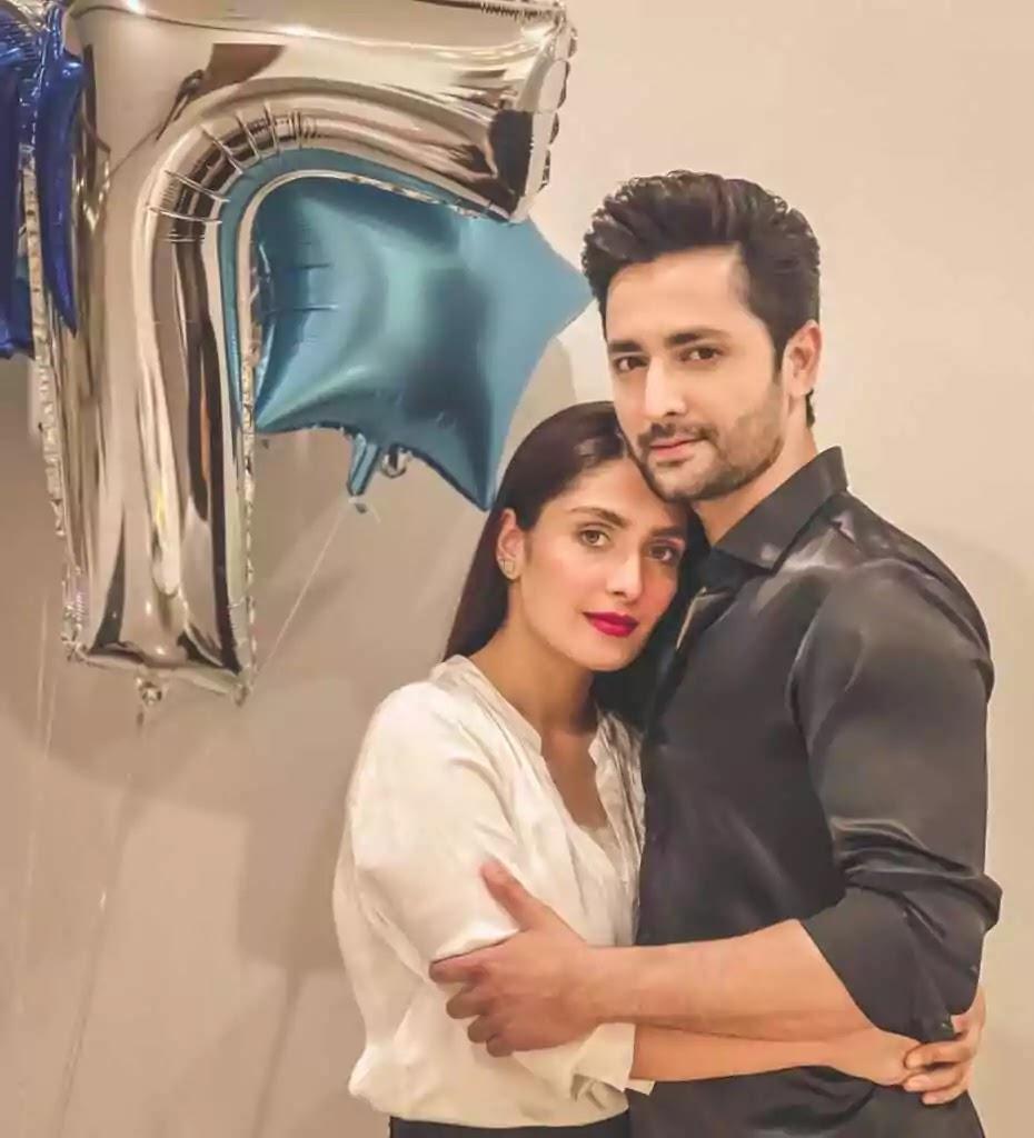 Ayeza Khan, Danish Celebrate 7th Wedding Anniversary