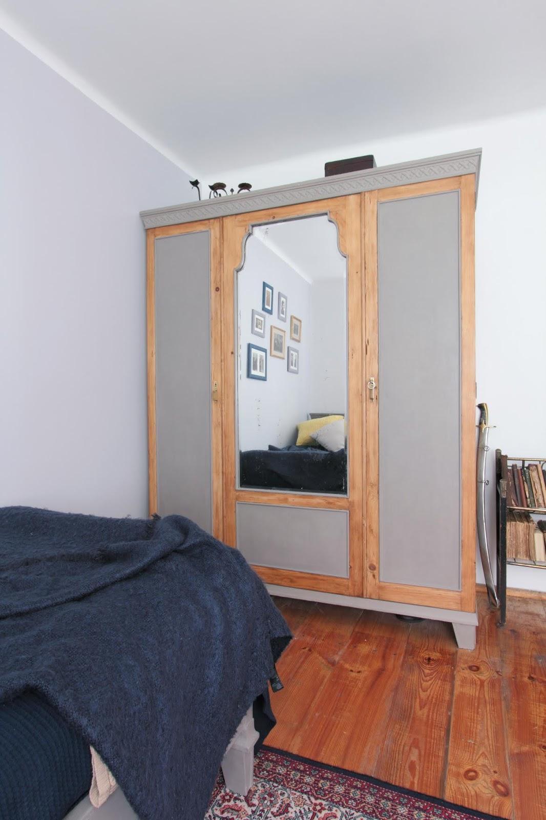 metamorfoza starej szafy