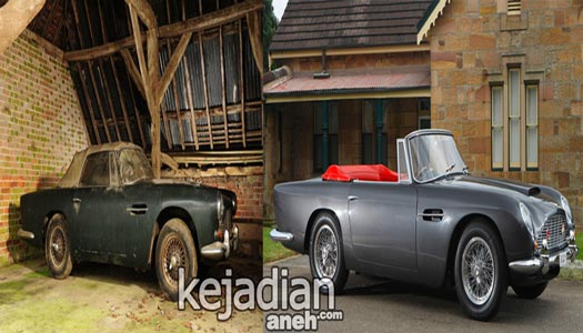 mobil antik 11 Temuan Mobil Klasik Termahal Dunia yang Jadi Rongsokan