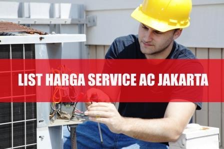 HARGA SERVICE AC RUMAH JAKARTA