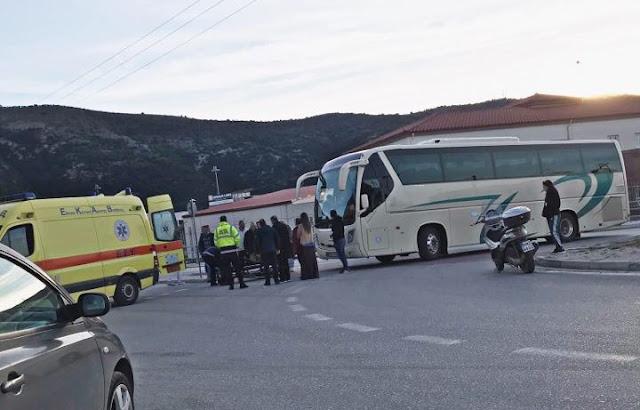 Ηγουμενίτσα: Λεωφορείο παρέσυρε πεζή