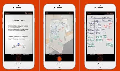 تطبيق Office Lens