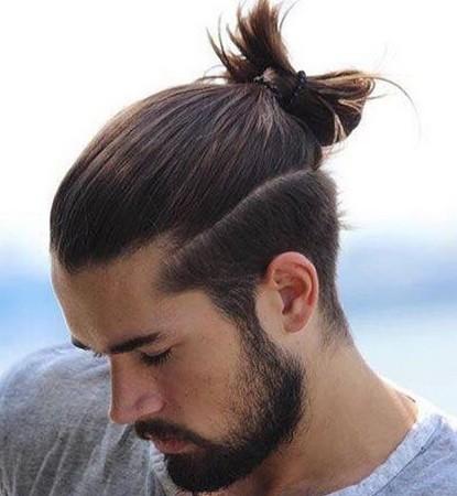 Gaya rambut Bun Knot
