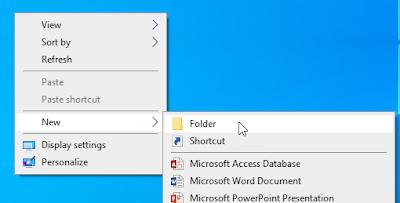 mengaktifkan god mode windows
