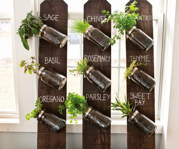 DIY To Try # Indoor Herbs Garden