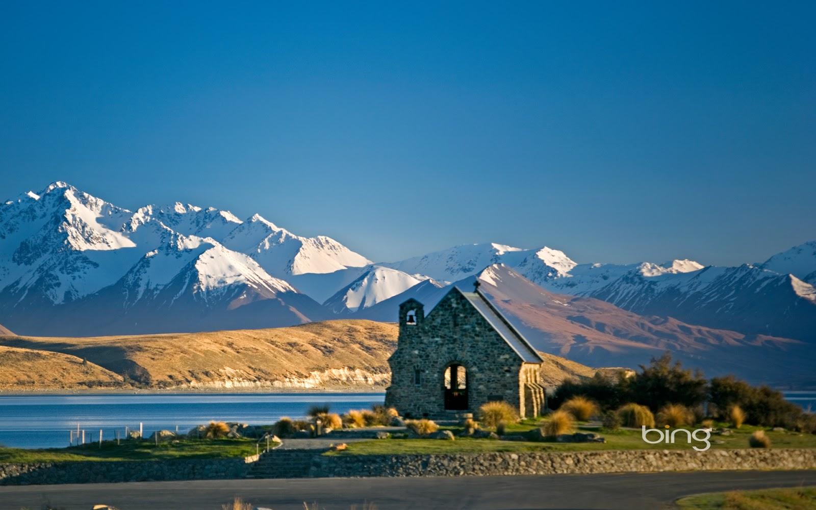 Multonomah Falls Wallpaper Desktop Travel Trip Journey Lake Tekapo New Zealand