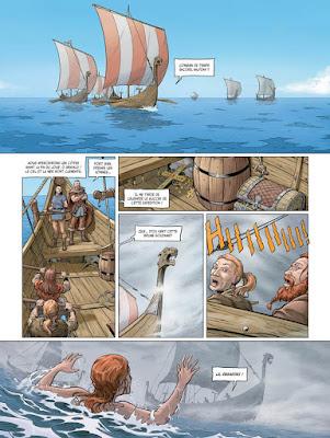 Sirènes & Vikings tome 2 une femme à la mer