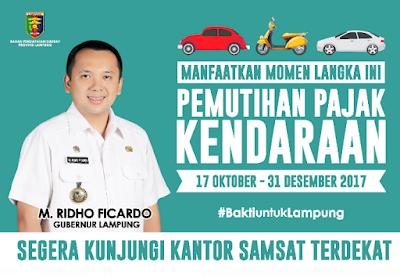 Gubernur Ridho Ajak Masyarakat Manfaatkan Pemutihan Pajak Kendaraan Mulai Besok