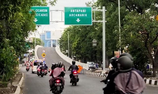 Urai Kemacetan, Menunggu Diresmikan Dua Fly Over Kota Bandung Sudah Dioperasionalkan