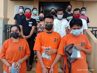 Satres Narkoba Polres Labuhanbatu Berhasil Grebek Daerah  Padang Bulan