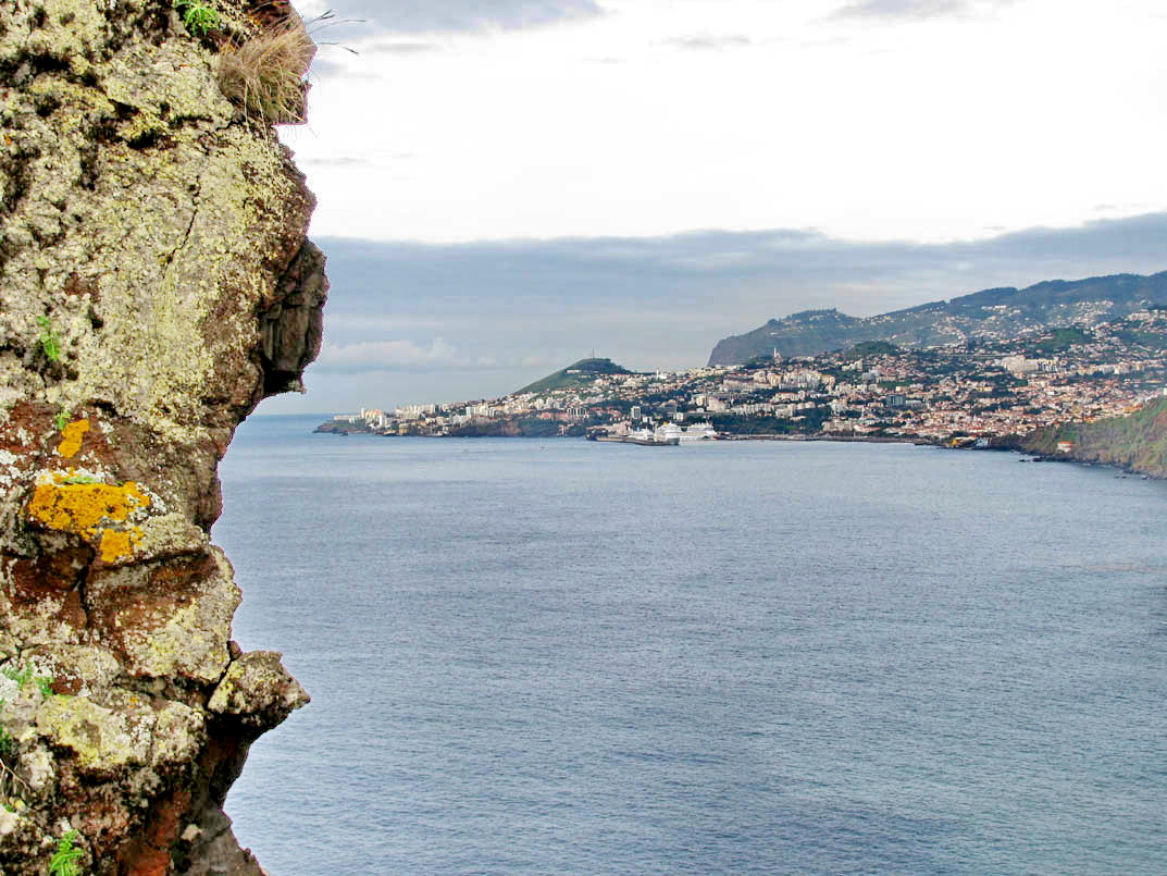 Funchal view from Garajau