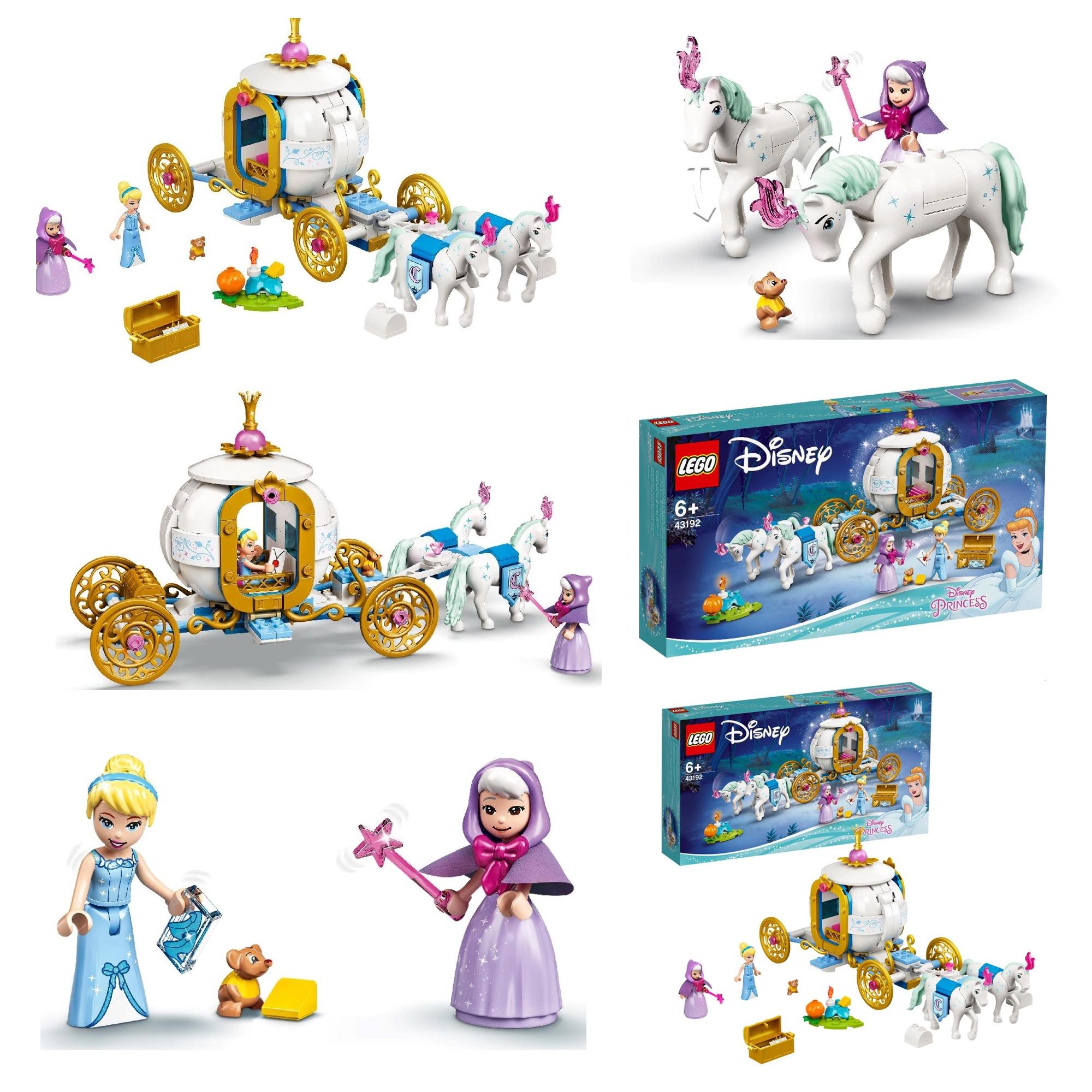 レゴディズニープリンセス2021年新製品情報第1弾:みんな大好きお姫様シリーズ!新作映画ラーヤと龍の王国セットも登場!