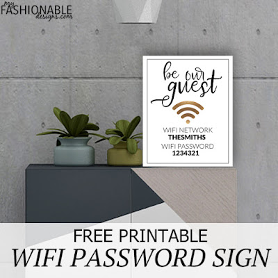 photograph regarding Printable Wifi Sign named My Contemporary Models: Absolutely free Printable WiFi Indication
