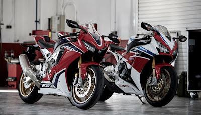 2017 Honda CBR1000RR Fireblade SP & SP 2 bikes