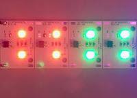 Scheda Led RGB universale per pulsantiera citofonica